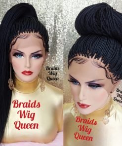 Ready To Ship Braided Wigs