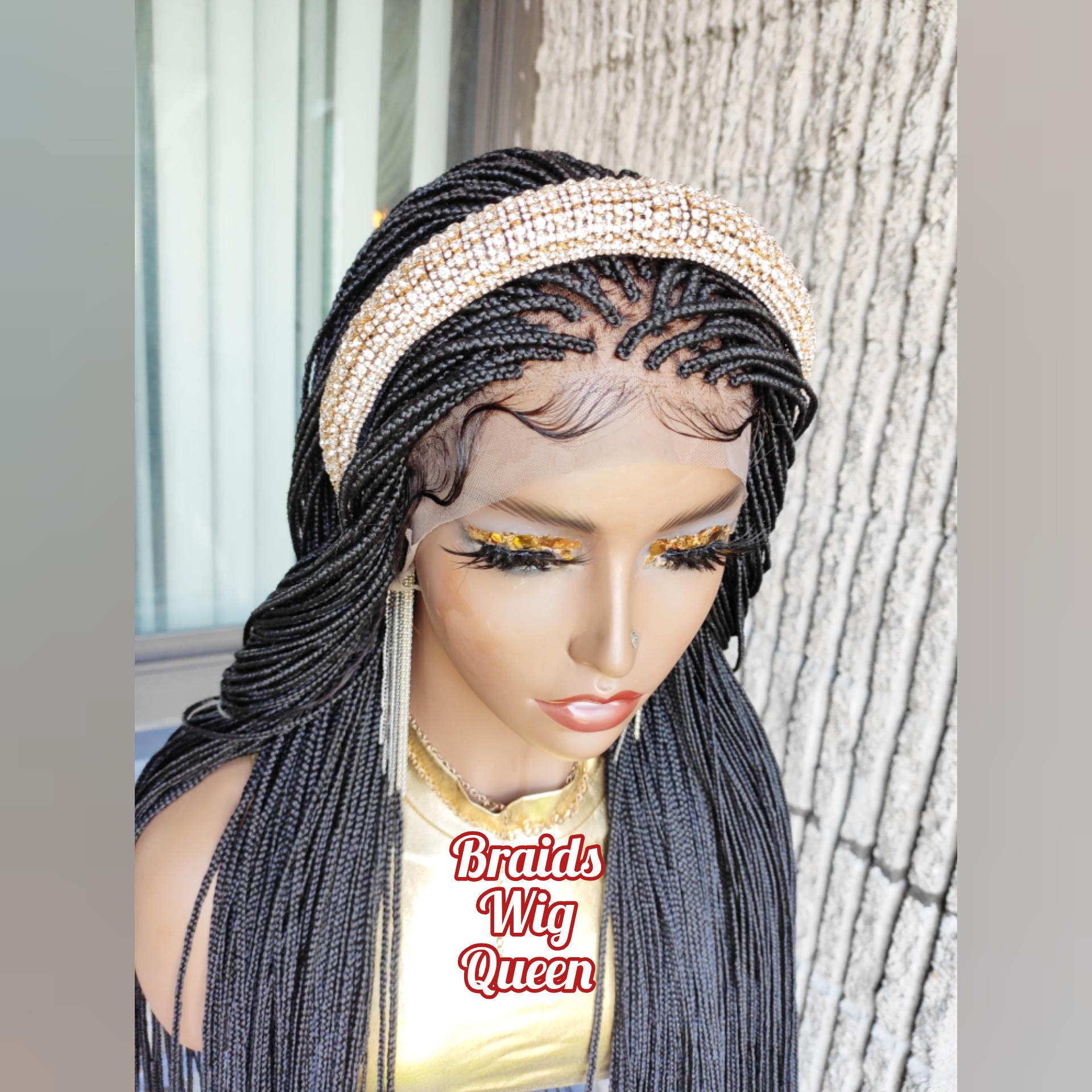 Princess Headband Braids Wig Queen